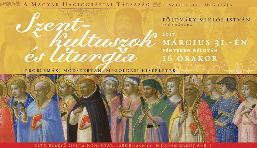 Szent-kultuszok és liturgia