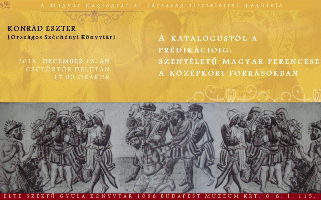 Konrád Eszter előadása